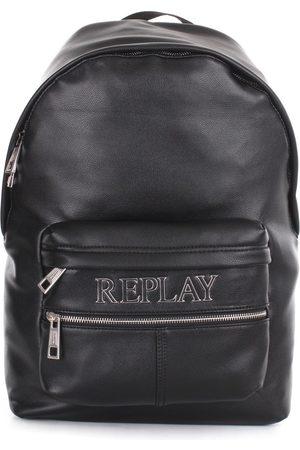 Replay Backpacks Men Poliuretano