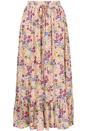 We Are Kindred Women Printed Skirts - Mia floral-print midi skirt
