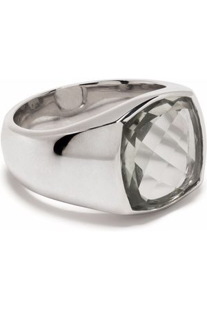 Tom Wood Shelby sterling quartz ring