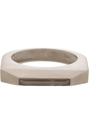Rick Owens Men Bracelets - Crystal-embellished bangle bracelet