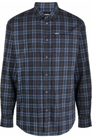 Dsquared2 Check-print cotton shirt