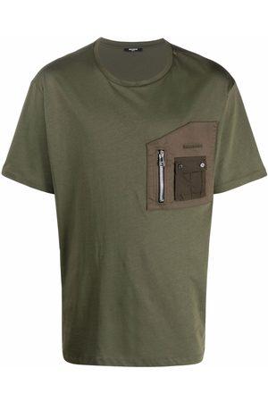Balmain Zip chest pocket T-shirt