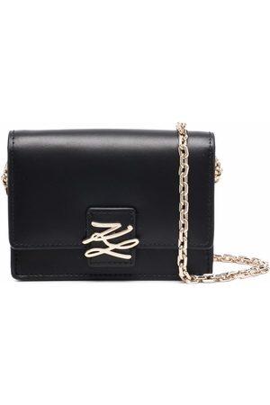 Karl Lagerfeld K/Autograph flap wallet bag