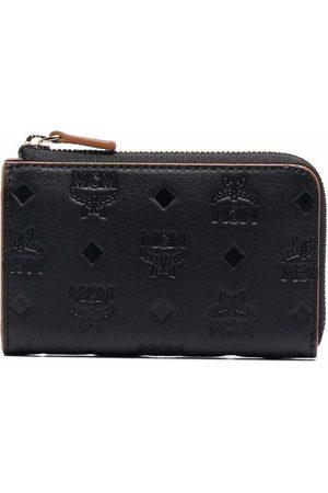 MCM Monogram mini wallet