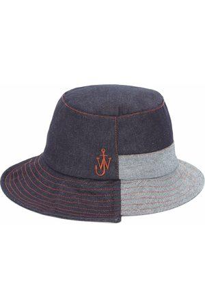 J.W.Anderson Asymmetric logo-plaque bucket hat