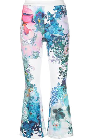 Cynthia Rowley Women Pants - Printed bonded pants - Multicolour