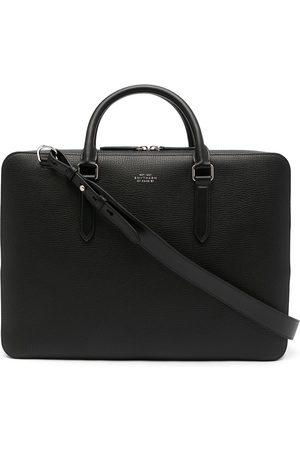 SMYTHSON Ludlow logo-detail briefcase