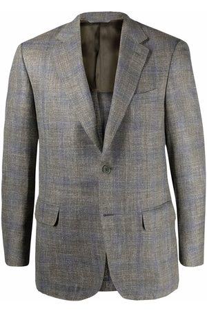 CANALI Boys Blazers - Check-print blazer