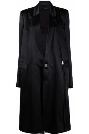 ANN DEMEULEMEESTER Satin duster coat