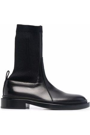 Jil Sander Women Chelsea Boots - Ribbed-sock Chelsea boots
