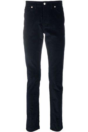 Zadig & Voltaire David velvet straight leg trousers