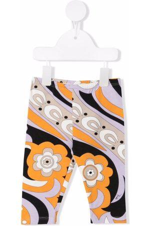 Emilio Pucci Junior Baby Leggings - Abstract-print leggings