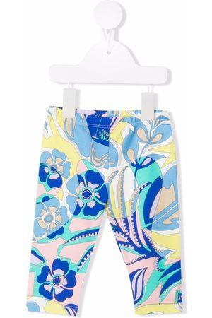 Emilio Pucci Junior Samoa-print leggings