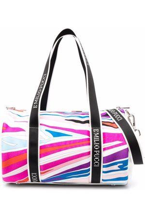 Emilio Pucci Junior Sal-Print duffle bag
