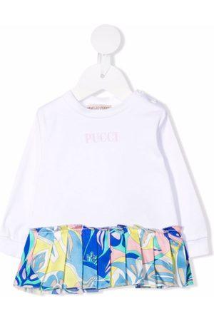 Emilio Pucci Hoodies - Samoa-print pleated sweatshirt