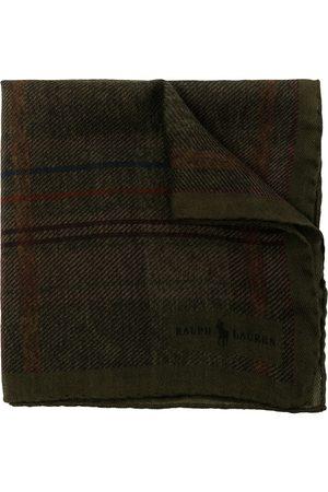 Polo Ralph Lauren Tartan wool pocket square - MULTI