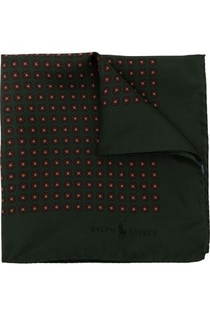 Polo Ralph Lauren Men Bow Ties - Diamond neat silk pocket square