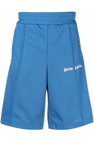Palm Angels Side stripe track shorts