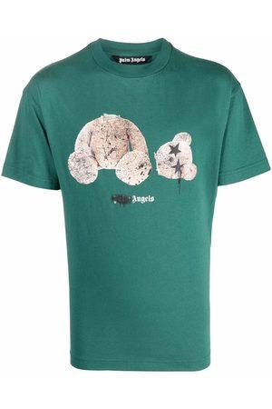 Palm Angels Spray bear-motif T-shirt