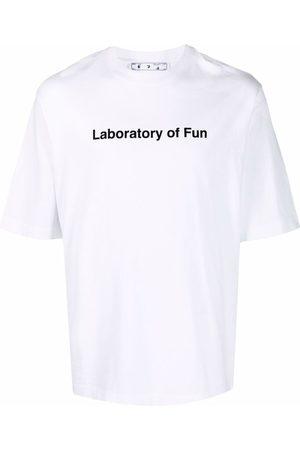 Off-White Laboratory Of Fun T-shirt