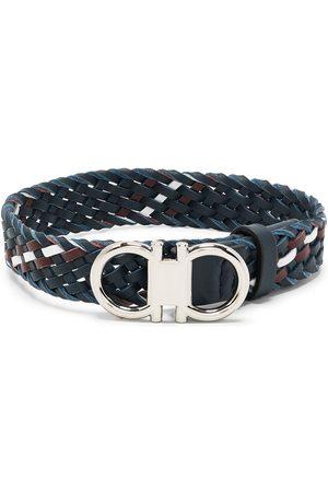 Salvatore Ferragamo Men Bracelets - Gancini buckle bracelet