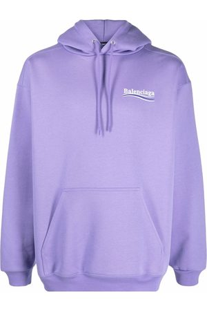 Balenciaga Logo-print cotton hoodie