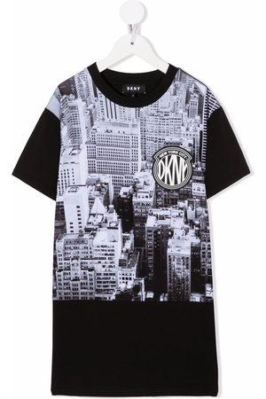 Dkny Kids Photographic-print T-shirt dress