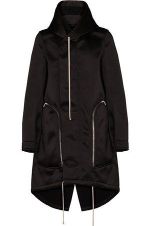 Rick Owens Bauhaus Fishtail oversized coat