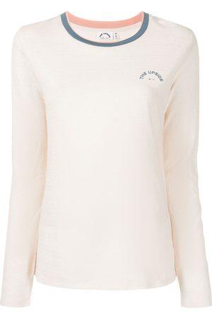 The Upside Women Long Sleeve - Mila logo-print longsleeved top