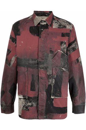 Diesel Camouflage-print overshirt
