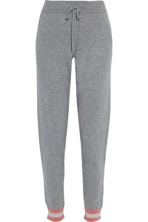 CHINTI & PARKER Women Sweatpants - Woman Striped Wool And Cashmere-blend Track Pants Size L