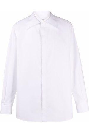 VALENTINO Men Casual - Oversize collar shirt