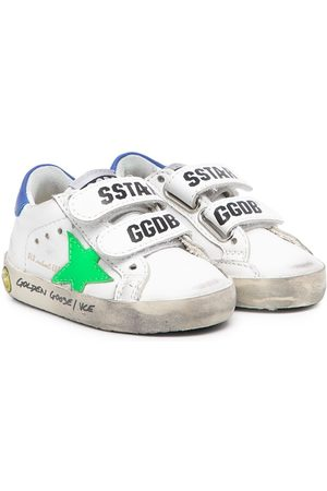 Golden Goose Kids Old School touch-strap sneakers