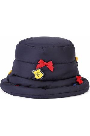 Dolce & Gabbana Kids Padded button-detail hat