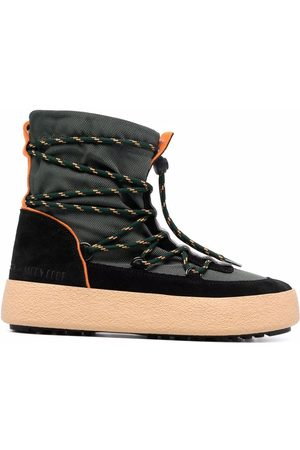Moon Boot Crossover tie-fastening track boots