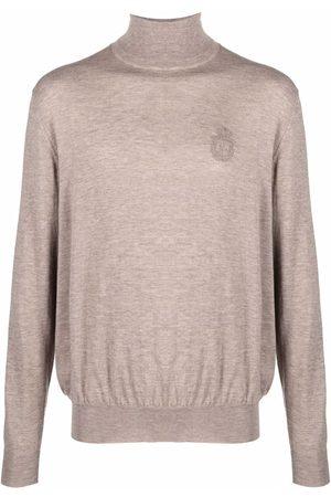 BILLIONAIRE Fine knit turtleneck jumper - Neutrals