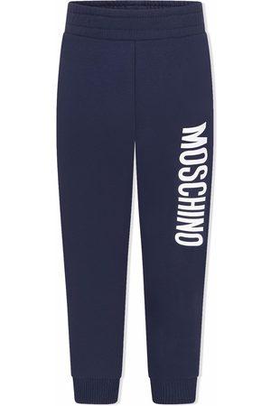 Moschino Kids Logo-print sweatpants