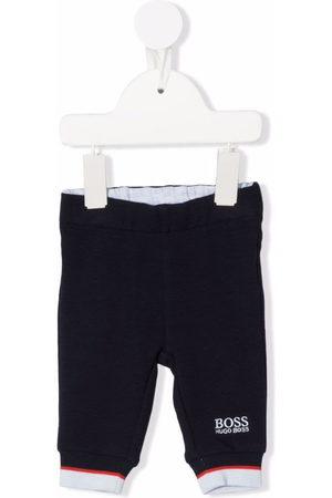 HUGO BOSS Sweatpants - Embroidered logo track pants