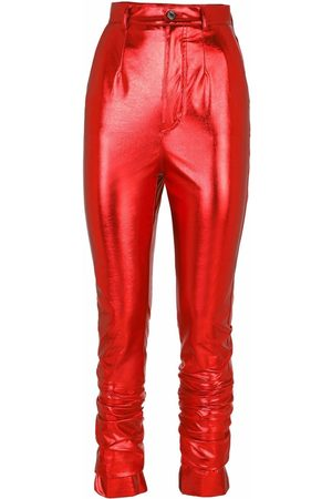 Dolce & Gabbana High-shine skinny trousers