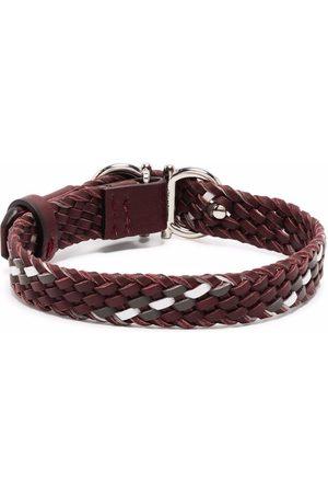 Salvatore Ferragamo Men Bracelets - Woven cuff bracelet