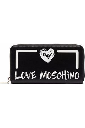 Love Moschino Women Wallets - Heart logo all-around wallet