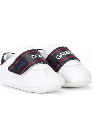 Dolce & Gabbana Sneakers - Logo-print touch-strap sneakers
