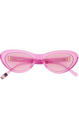 DOUBLET Transparent cat-eye sunglasses