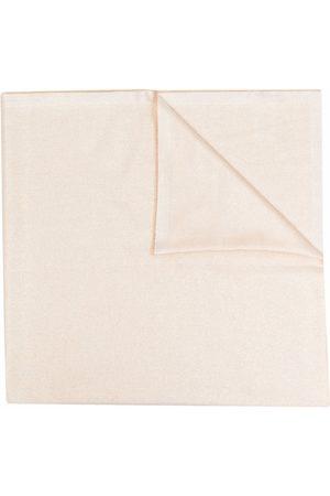 LAUREN RALPH LAUREN Shimmer effect scarf - Neutrals