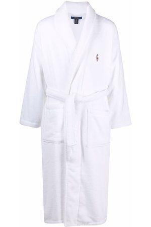 Polo Ralph Lauren Men Bathrobes - Polo Pony terry-cloth robe