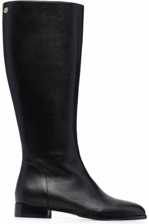 BALDININI Women Thigh High Boots - Leather knee-length boots