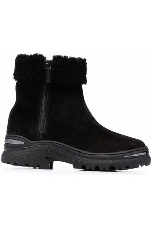 BALDININI Women Ankle Boots - Shearling-trim ankle boots