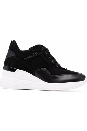BALDININI Women Sneakers - Wedged lace-up sneakers