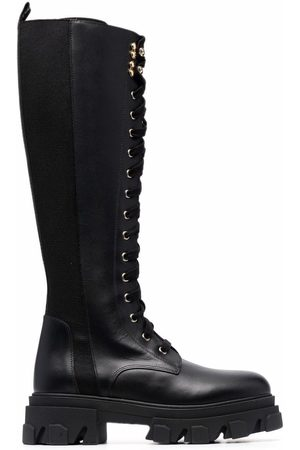 BALDININI Women Lace-up Boots - Lace-up knee-length boots