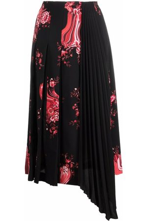 VIVETTA Women Printed Skirts - Floral-print pleated skirt - S9X1